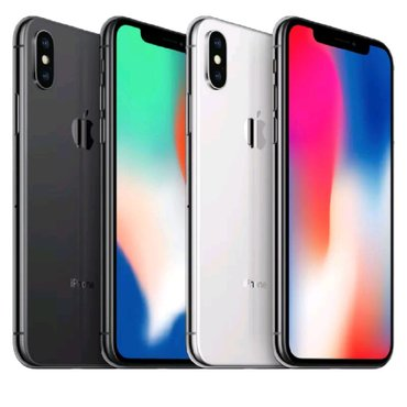IPhone X 64Gb - 1031$ _____iPhone X 256Gb - 1162$ в Бишкек