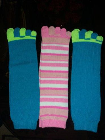 Носки с пальчиками. новые. 3 пары за 200 сом. в Бишкек
