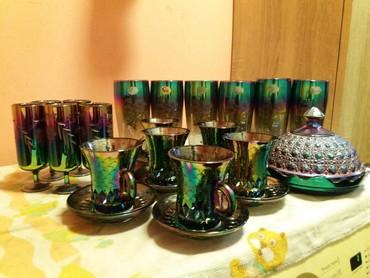 продам шампунь в Кыргызстан: Продам красивый сервиз. Не хватает одного фужера
