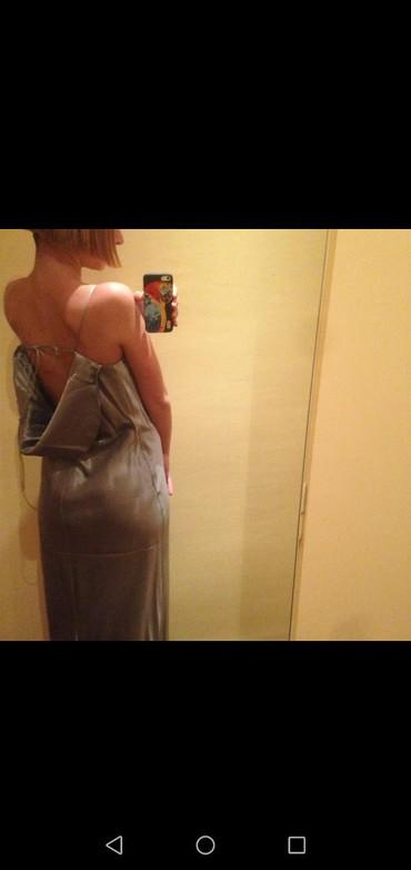 Haljina dizajnerska svila nova iz Londona vel 36 - Crvenka