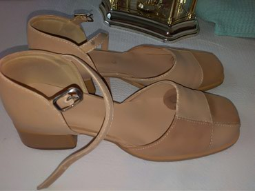 Ženska obuća | Prijepolje: Cipele/sandal, kozne . Kozno lice i tabanica. Vel. 39