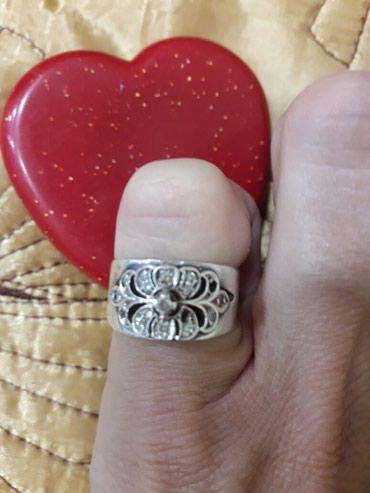 Красивое кольцо.серебреное в Бишкек