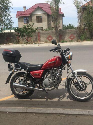 Мотоциклы и мопеды - Кыргызстан: Продаю suzuki gn125h 2007 года  Обмен на авто  Расход 2.5-3 л на 100км