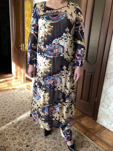 туники со штанами в Кыргызстан: Платье со штанами. Размер 50-52