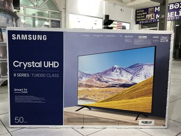 muncuqdan boyunbagi v muncuqlar - Azərbaycan: Samsung 50 TU 8000. (127cm) 8ci nəsil. Səsli idarə olunma. 2020 model