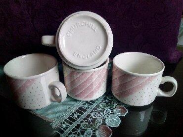 Kuhinjski setovi - Kraljevo: Porcelanake nove solje za kafu,caj i sl.Komplet od 4