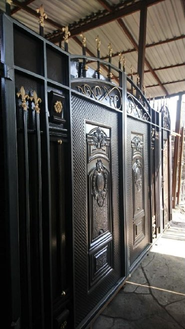 Арзан сапаттуу ворота заказ менен жазайм ватсап жазгыла беловодск