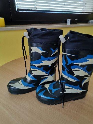 Dečije Cipele i Čizme | Loznica: Gumene cizme, postavljene u ok stanju. Broj 28, 18cm gaziste