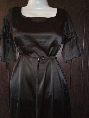 Bakı şəhərində Платье атласное с поясом