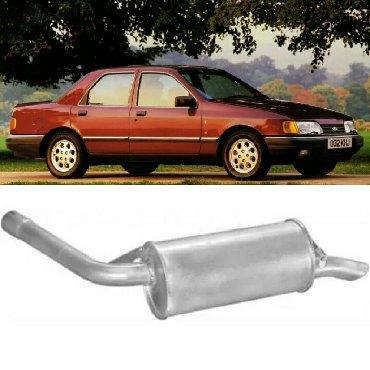 Глушитель задн часть *. Глушитель задняя часть Ford Sierra 1.6, 1.8