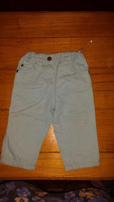 джинсы,в хорошем состоянии,9-12мес.цвет ярко голубой в Бишкек