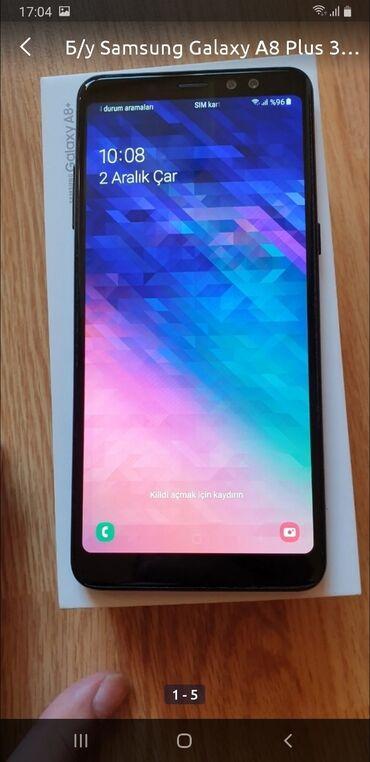 fehle teleb olunur 2018 - Azərbaycan: İşlənmiş Samsung Galaxy A8 Plus 2018 32 GB qara