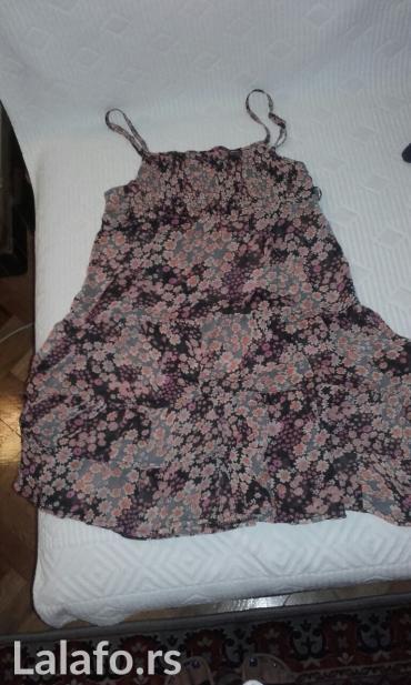 Leprsava haljina na cvetice sa zabicama,velicina s - Belgrade