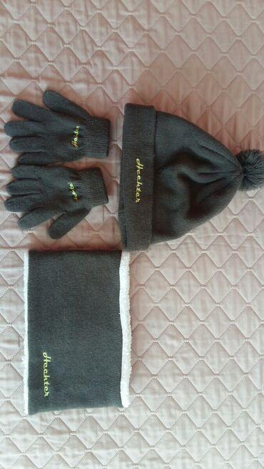 Kapa,šal i rukavice za dečake vel. 10 god.Polovno i ocuvano,kupljeno u