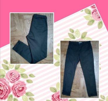 Pantalone tifany kroj - Srbija: Pantalone  u lepoj maslinastoj boji, kroj je odličan.36 vel