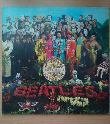 Lp The Beatles, Sgt. Pepper's lonely hearts club band, Jugoton, - Belgrade