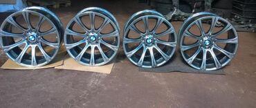 диски bmw в Кыргызстан: Продаю диски на БМВ BMW 265 35 R19 235 40 R19 166 стиль на зимней