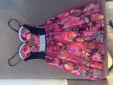 Нарядное платье для важных событий, одевалось один раз на выпускной