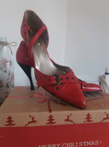 Kozna ocuvana elegantna cipela. - Kraljevo