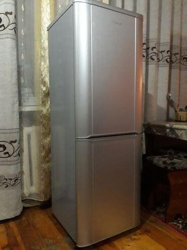 Б/у Двухкамерный Серебристый холодильник Samsung