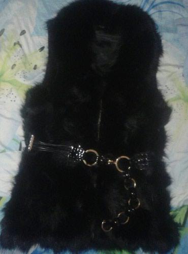 Натуралка ...Меховая жилетка кожанная в Бишкек