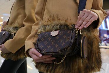 Женская сумка - Luis Vuitton  Sumochka Цвет: Коричневый Качество: LUX