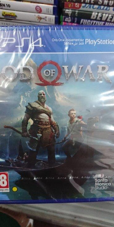 Bakı şəhərində Ps4 üçün God of War 4 oyunu bağlı upokovkada Çatdırılma mümkündür