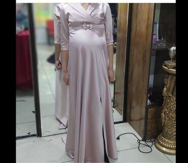 вечернее турецкая платье в Кыргызстан: Очень красивое платье из сатина Также можно для беременных!