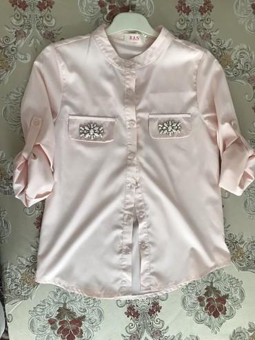 Блузка, рубашка размер S-M Цвет персиковый