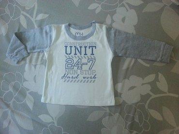 Pamucna majica na dug rukav za decaka marke my baby, velicina 12 - Valjevo