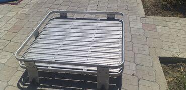 Аксессуары для авто - Кара-Суу: Экспедиционный багажник на Мицубиси паджеро