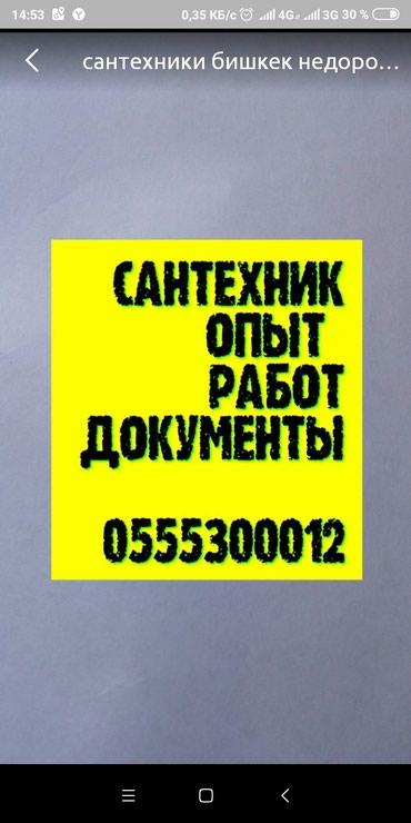 сантехник бишкек срочно вызвать в Лебединовка