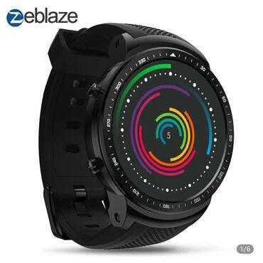 Наручные смарт часы Zeblaze THOR PRO - это качественные умные часы с