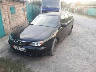 черный nissan в Кыргызстан: Nissan Primera 2000