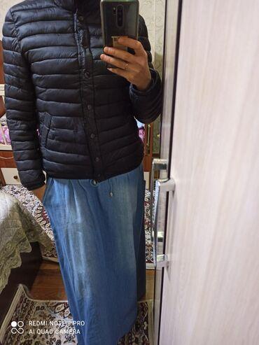 Юбка из тонкой джинсовой ткани,производство Турция, отличного