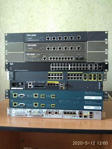 пассивное-сетевое-оборудование-logicpower в Кыргызстан: Продаю сетевое оборудование. Маршрутизатор Cisco 2901 K9 - 11000с, Кон