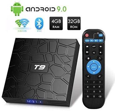 televizor temiri - Azərbaycan: Tv box smart ram 4 yaddaş 32 t9 madel ram4 gb 32. 90aznx96q madel