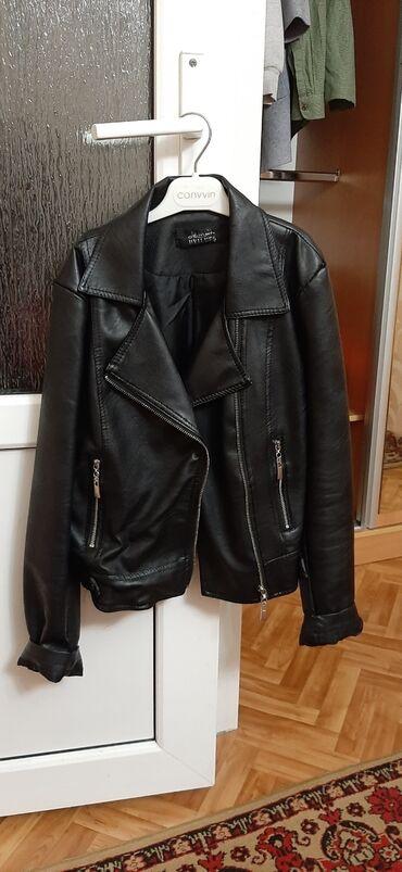 Куртка из эко-кожи на весну и осень