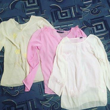 Блузки новые с индии,ткань шифон, в Бишкек