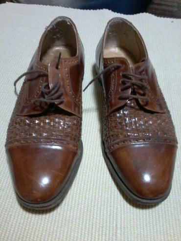 Muske kozne torbice - Srbija: Muske italijanske kozne cipele,nosene,br.42