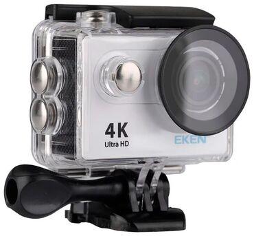 Экшн камера Ultra HD 4K 25fps EKEN H9R оснащена большим экраном, обесп