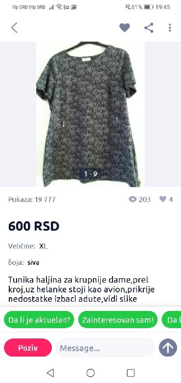 S tunika - Srbija: Tunika