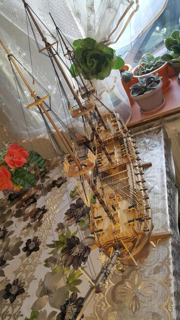 """Модели кораблей - Бишкек: Продается модель Английского линейного корабля 1760г """" H.M.S. BELLONA"""""""