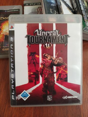 "Sony Playstation 3 Modelleri Üçün ""UNREAL TOURNAMENT 3"" Original Oyun"