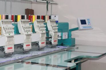 Пошив и ремонт одежды - Кыргызстан: Компьютерная вышивка   Швейный цех   Платья, Штаны, брюки, Куртки