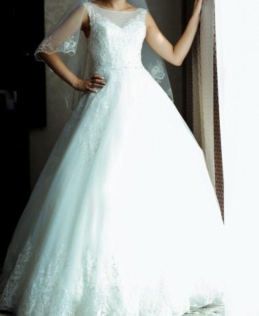 Продаю красивое, нежное свадебное в Бишкек