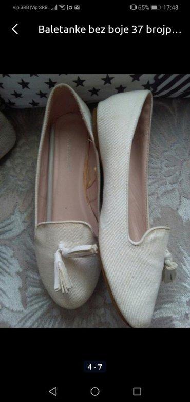 Ženska obuća | Sombor: Cipelice bež boje 37