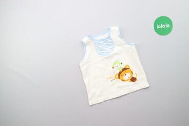 Дитячий топ з принтом     Довжина: 34 см Ширина плечей: 20 см Напівобх