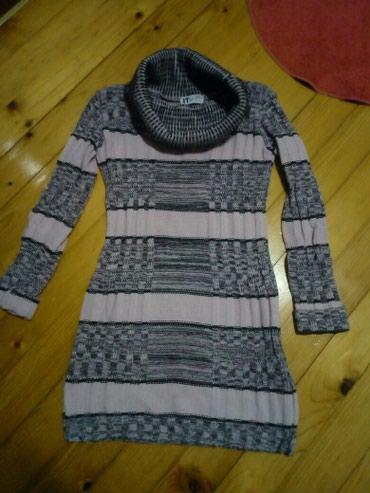 Trikotazna tunika-haljina,meka. duzina 78cm,sirina ramena 40cm, duzina - Pancevo