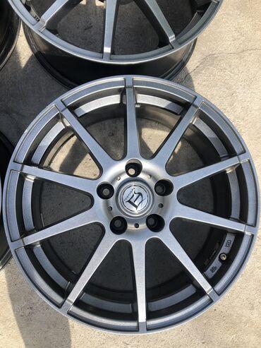 шины б у 13 радиус в Кыргызстан: Продаю диски R_17 Aphrodite Spoke Wheels. Ширина 8.0 J. Вылет +38